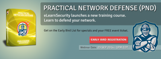 Practical Network Defense course
