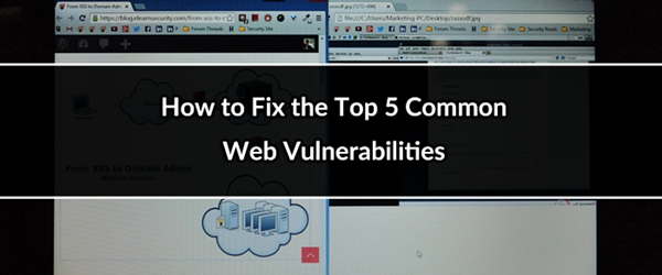 top 5 web vulnerabilities