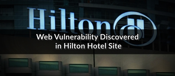 hilton honors web vulnerability security