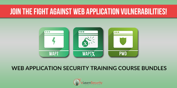 elearnsecurity web application security