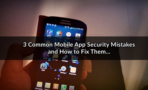 mobile app security penetration testing