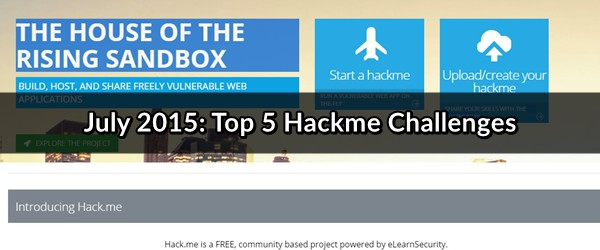 july 2015 hackme