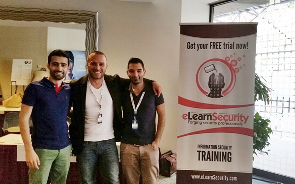 eLearnSecurity team at AppSec USA