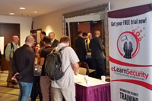 elearnsecurity at AppSecUSA 2015