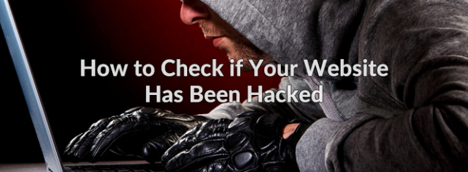 how to check hacked website
